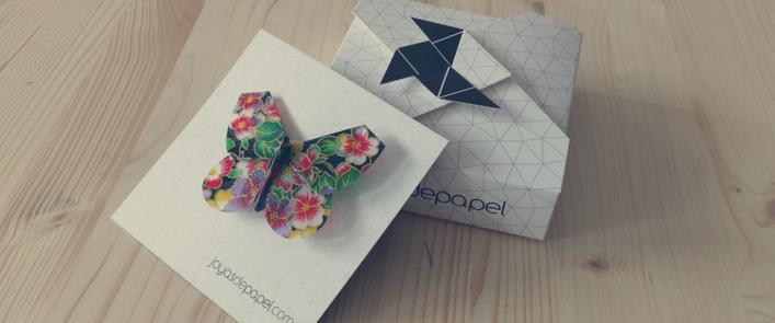 Packaging de joyas de papel