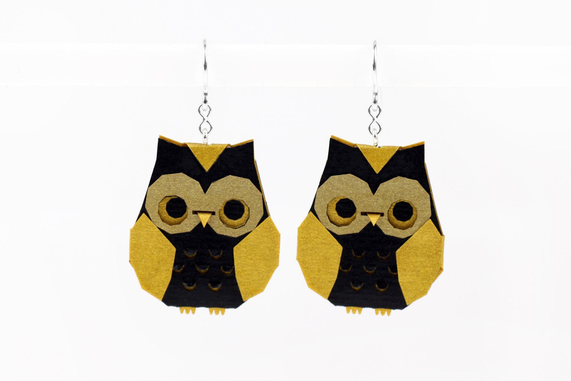 Origami Owl. Paper Owl tutorial | PapercraftSquare.com | 1280x1920