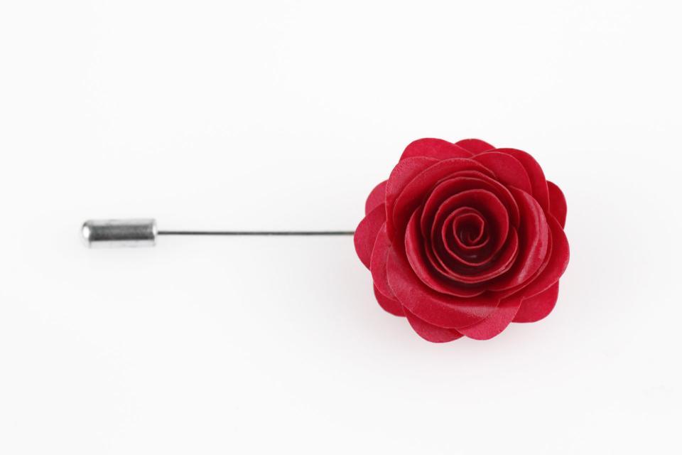 Rose brooch women's accessory