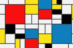 Mondrian's painting