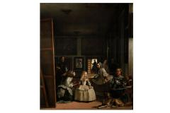 Famous painting, inspiring work from the collection of meninas on paper